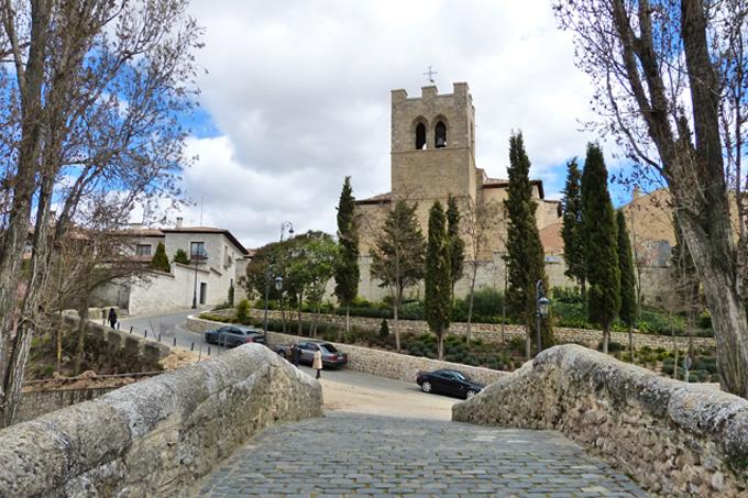 Iglesia y Puente de Aranda de Duero